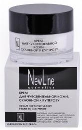 New LineКрем для чувствительной кожи, склонной к куперозу,50 мл New Line