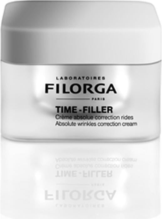 Filorga Средство Time-Filler ухода за лицом 50 мл филорга набор идеальная кожа тайм zero сыворотка мультикорректор 30 мл тайм филлер коррекция морщин любого типа 30мл
