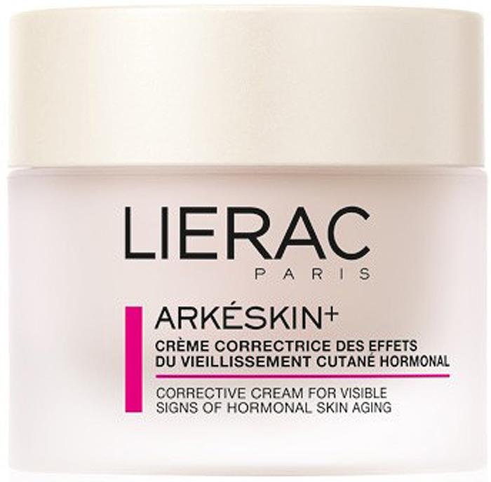 Lierac АРКЕСКИН+ крем 50 мл крем антивозрастной уход против гормонального старения аркескин для сухой и очень сухой кожи 50 мл lierac arkeskin
