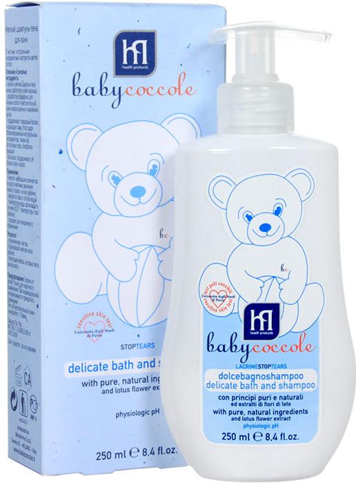 """Babycoccole Шампунь-пена """"The Bath"""" для ванн, мягкий, 250 мл"""