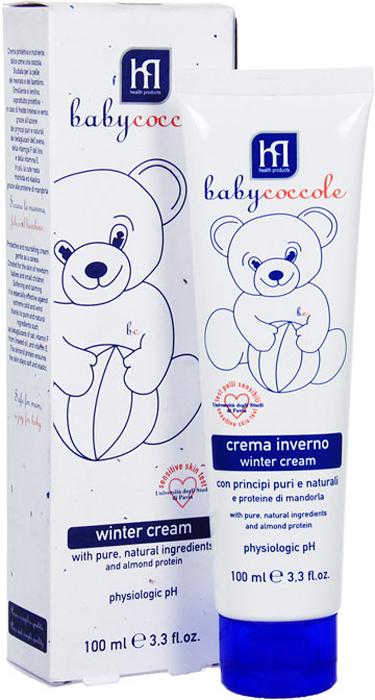 """Крем """"Babycoccole. The Cares"""" защитный, зимний, 100 мл"""