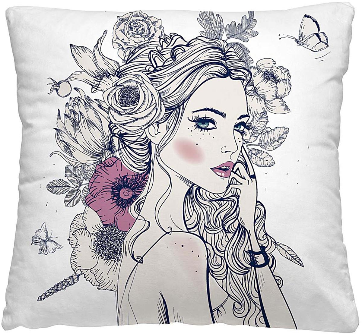 Подушка декоративная Волшебная ночь Эльвира, 40 х 40 см подушка декоративная волшебная ночь колибри 40х40 см