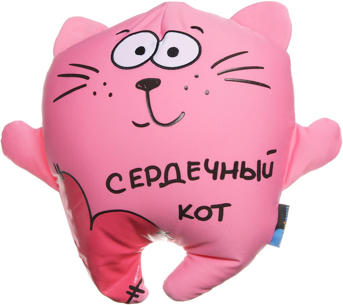 Maxi Toys Подушка-антистресс Сердечный кот