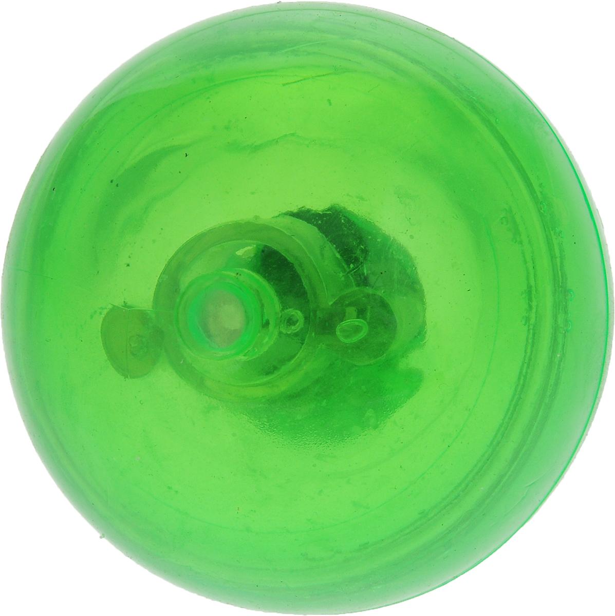 Мяч для собак Camon, светящийся, 58 мм, цвет: зеленый для собак грызть