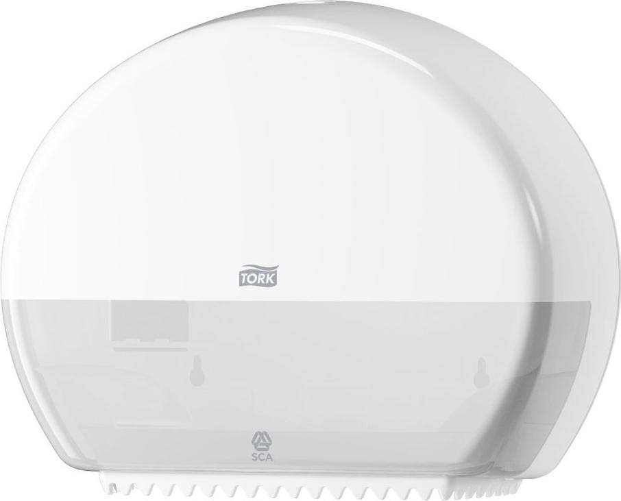 """Диспенсер для туалетной бумаги """"Tork"""", цвет: белый. 555000"""