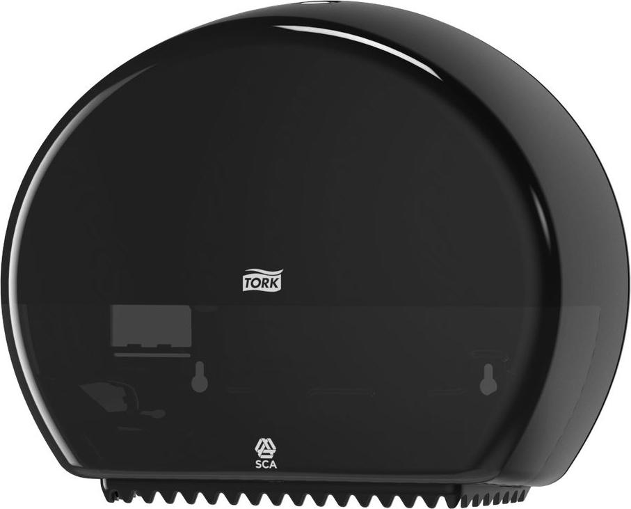 """Диспенсер для туалетной бумаги """"Tork"""", цвет: черный. 555008"""