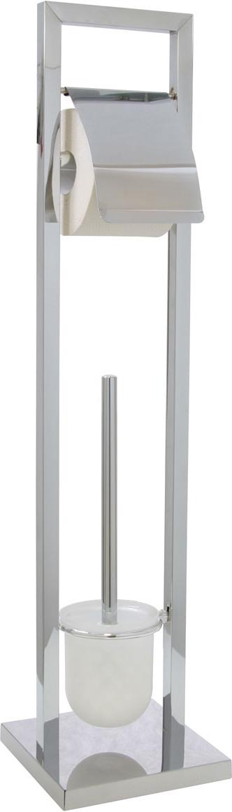 """Гарнитур для туалета """"Axentia"""", с держателем для бумаги, 18 х 18 х 75 см"""