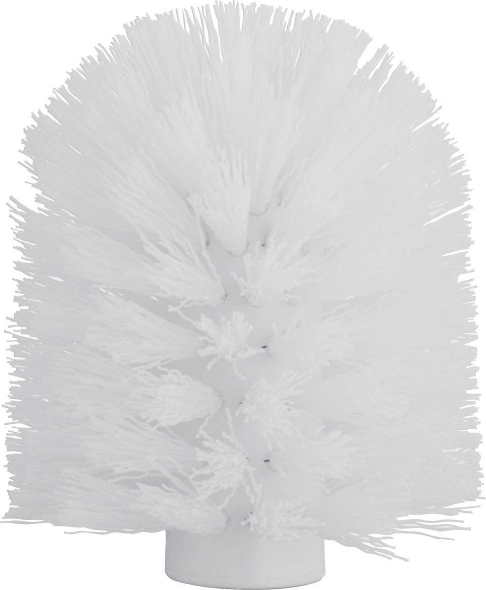 Щетка для ершика Axentia, сменная, цвет: белый, диаметр 8 см ершик для унитаза primanova float 8 5 8 5 37 см розовый