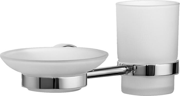 """Набор аксессуаров для ванной комнаты Iddis """"Calipso"""", цвет: хром"""