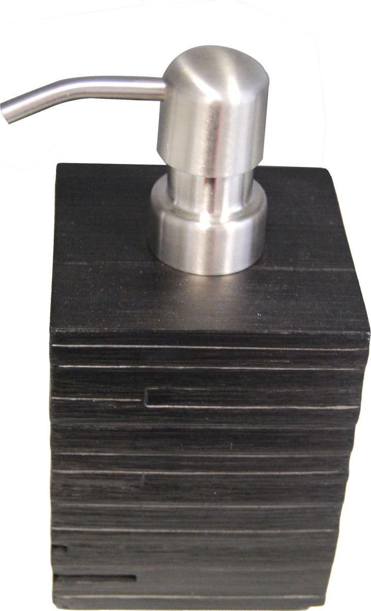Дозатор для жидкого мыла Ridder Brick, цвет: черный, 430 мл дозатор для жидкого мыла ridder elegance цвет черный