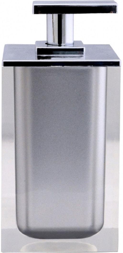 Дозатор для жидкого мыла Ridder Colours, цвет: серый, 300 мл дозатор для жидкого мыла king tower цвет серый 12349