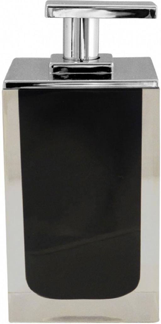 Дозатор для жидкого мыла Ridder Colours, цвет: черный, 300 мл дозатор для жидкого мыла vanstore wiki white цвет белый 300 мл