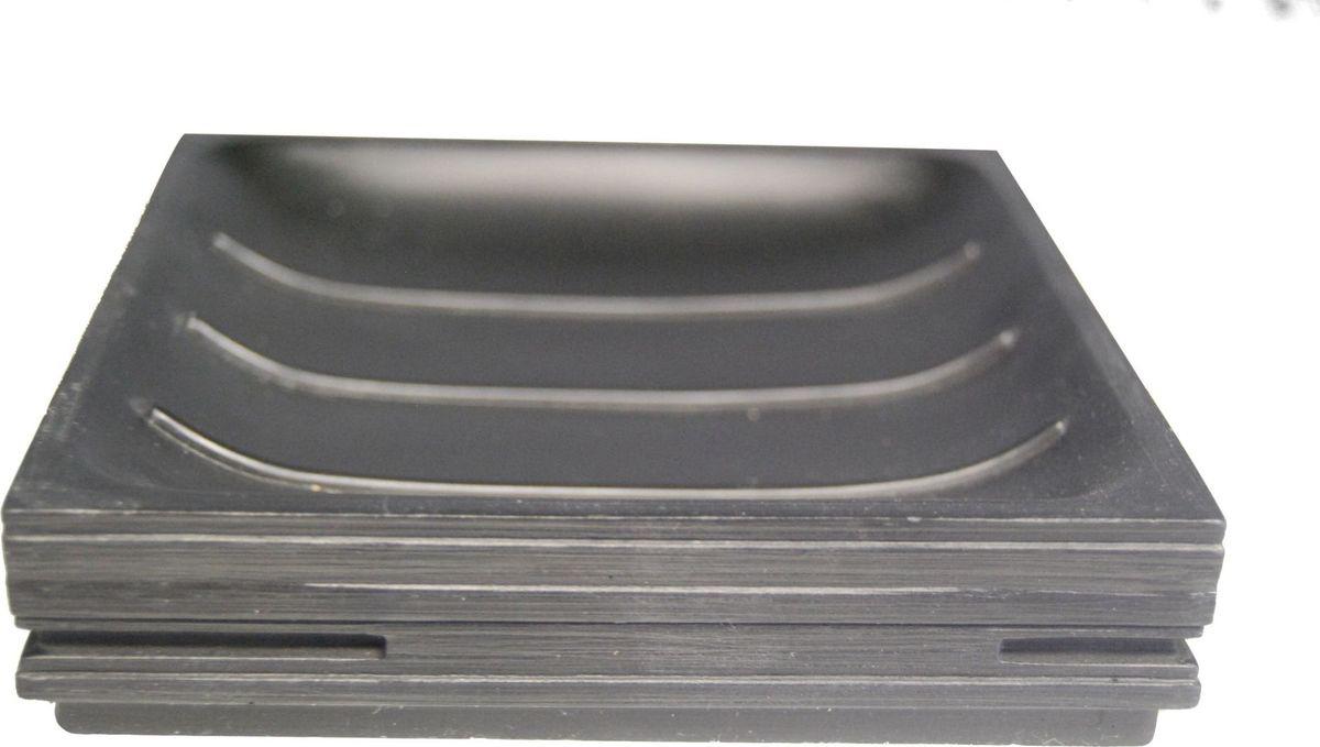 Мыльница Ridder Brick, цвет: черный22150310Мыльница Ridder Brick - высококачественные немецкий аксессуар для ванной комнаты. Изделия серии Brick устойчивы к ультрафиолету, изготавливаются из добротной полирезины. Экологичная полирезина - это твердый многокомпонентный материал на основе синтетической смолы, с добавлением каменной крошки и красящих пигментов. Размер: 125 х 125 мм.