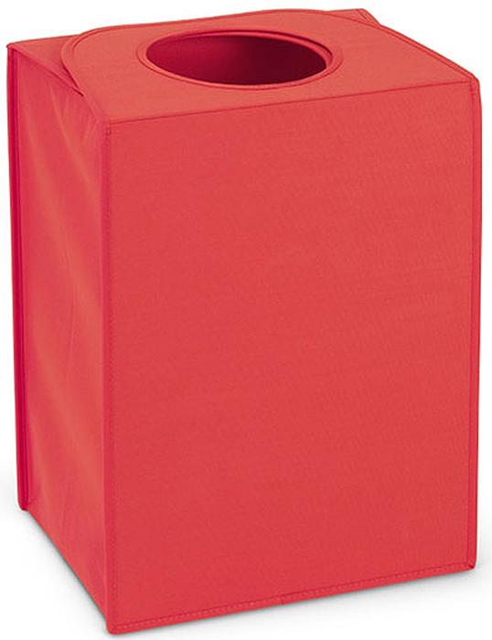 Сумка для белья Brabantia, прямоугольная, цвет: красный, 55 л. 104220 часы квадратные из пластика под дерево printio новогодняя ночь
