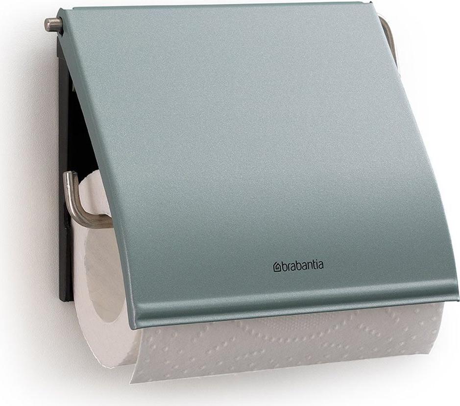 """Держатель для туалетной бумаги Brabantia """"Classic"""", цвет: мятный металлик. 107924"""