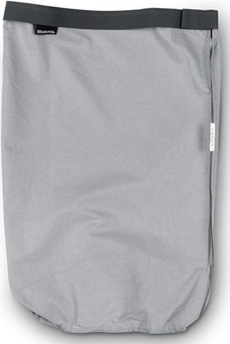 Мешок для бака для белья Brabantia, цвет: серый, 35 л. 102325 brabantia мешок для бака для белья двойной 40 л 382680 brabantia