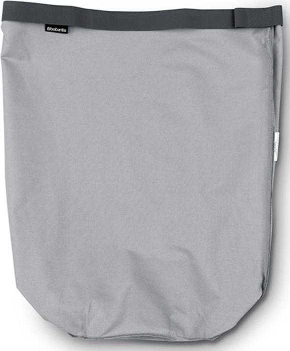 Мешок для бака для белья Brabantia, цвет: серый, 60 л. 102363 brabantia мешок для бака для белья двойной 40 л 382680 brabantia