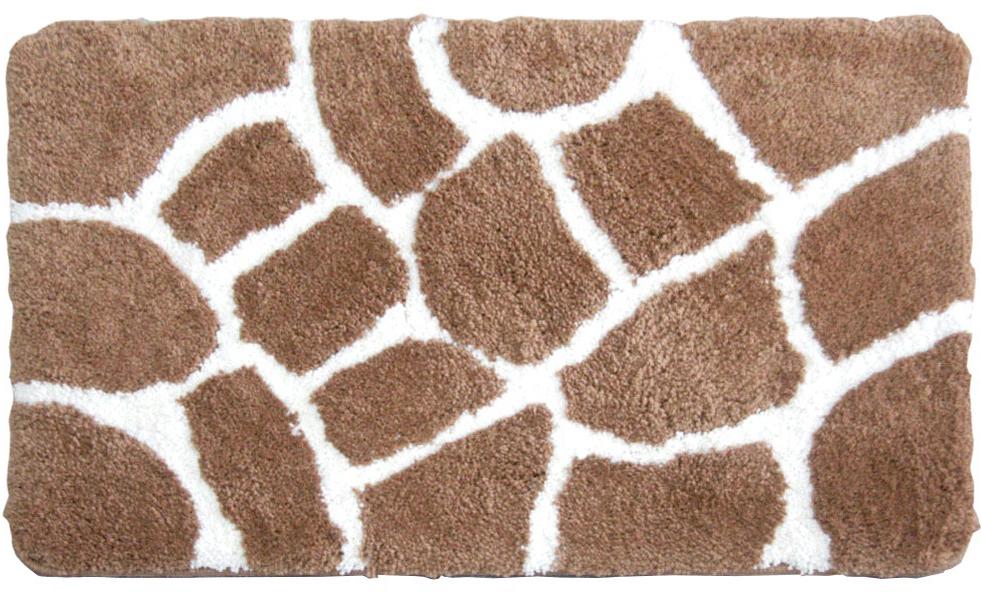Коврик для ванной комнаты, 50*80 см, микрофибра, Safari Friends, 570M580i12, IDDIS коврик для ванной iddis safari friends 50x80 см 570m580i12