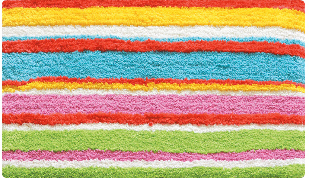 Коврик для ванной Iddis Summer Stripes, цвет: розовый, 50 х 80 см штора для ванной комнаты из полиэстера iddis summer stripes 290p24ri11