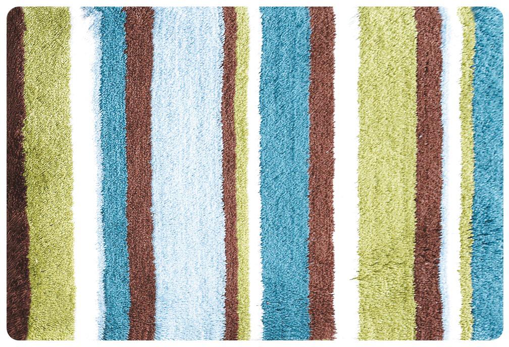 Коврик для ванной Iddis Raguza Fields, цвет: зеленый, 50 х 80 см коврик для ванной комнаты gobi цвет зеленый чай 55 х 65 см