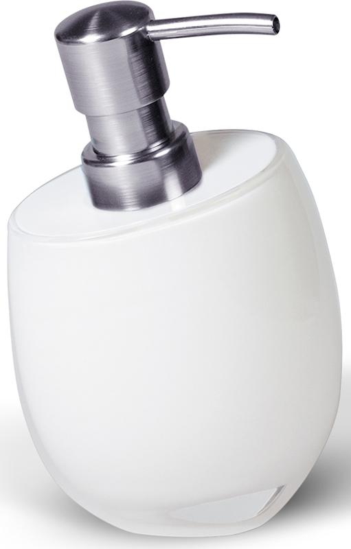 Дозатор для жидкого мыла Immanuel Repose White мыльница immanuel repose green салатовый 12295