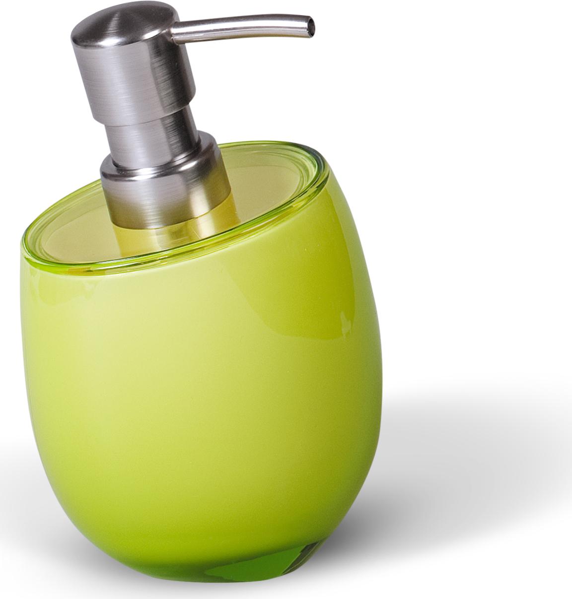 Дозатор для жидкого мыла Immanuel Repose Green, цвет: салатовый. 12325 мыльница immanuel repose green салатовый 12295