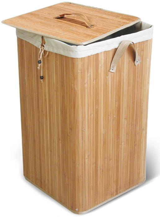 Корзина для белья Паллада с внутренним чехлом, 35 см х 35 см х 50 см корзина подвесная tatkraft on двухуровневая 25 х 12 х 47 см