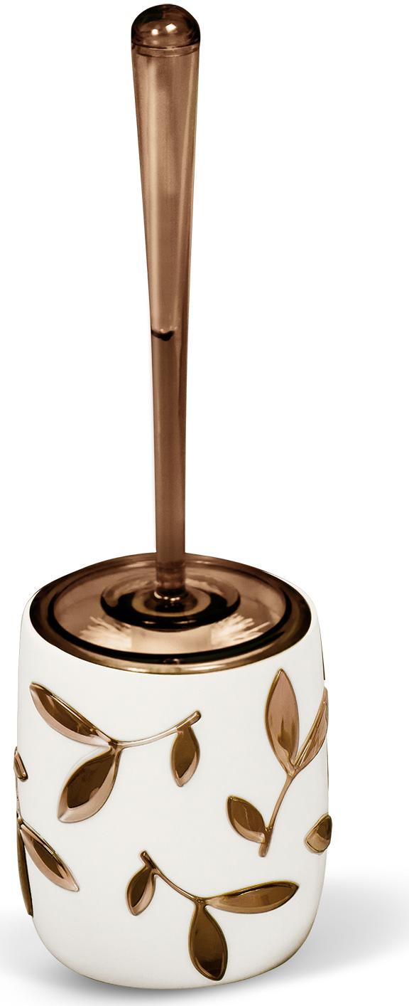 """Гарнитур для туалета Tatkraft """"Immanuel Olive"""", цвет: серый, коричневый"""