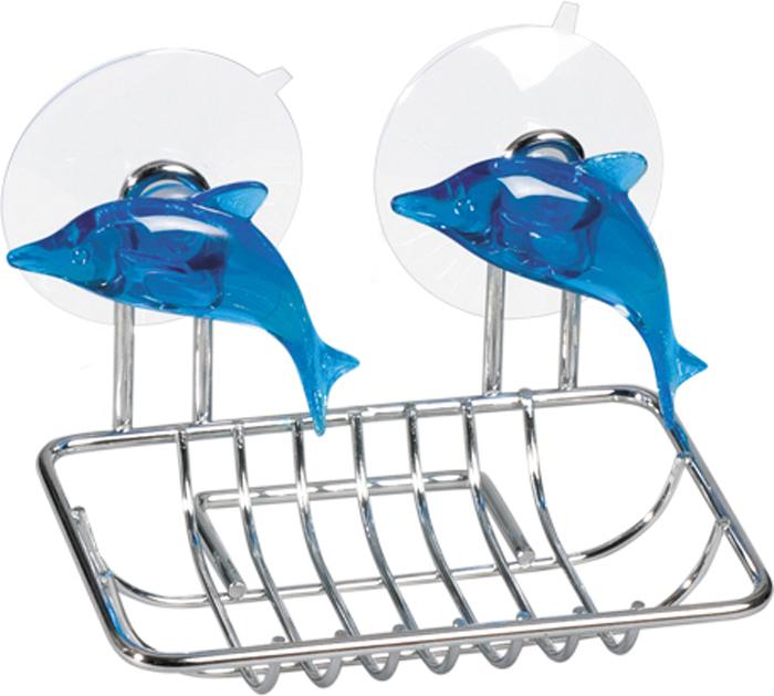Мыльница Tatkraft Dolphin Blue, 12,5 х 9 х 10 см мыльница tatkraft margarita