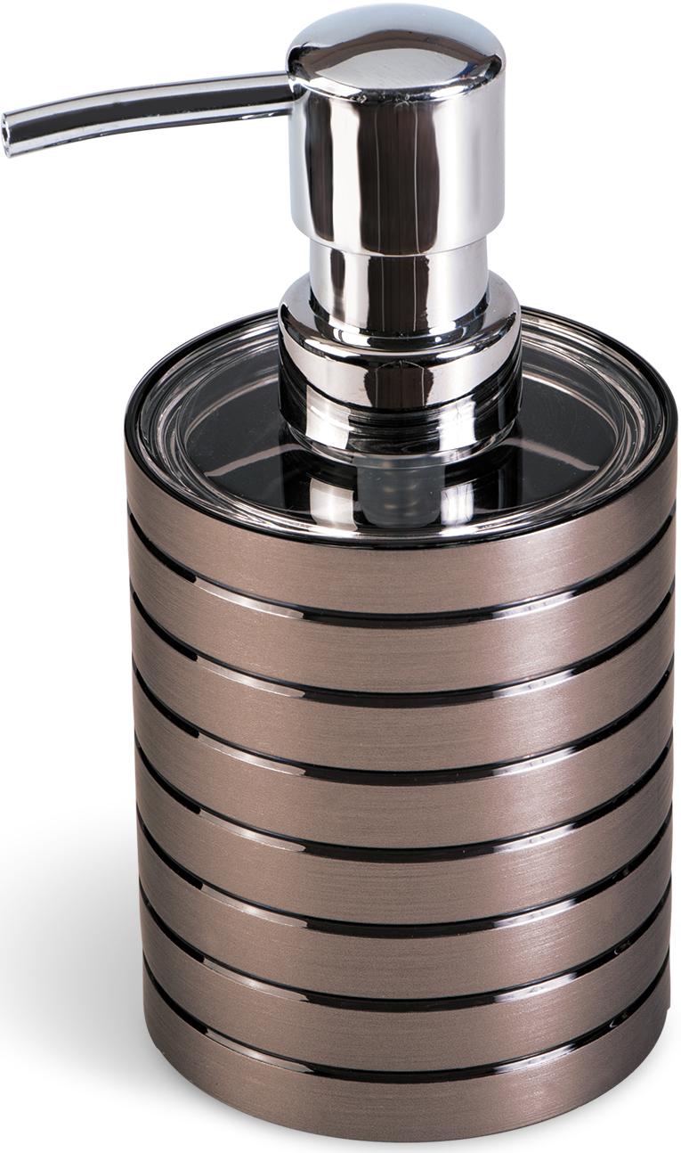 Дозатор для жидкого мыла Tatkraft King Tower Bronze, цвет: коричневый дозатор для жидкого мыла king tower цвет серый 12349