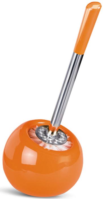 """Гарнитур для туалета Tatkraft """"Terra"""", цвет: оранжевый, 2 предмета"""