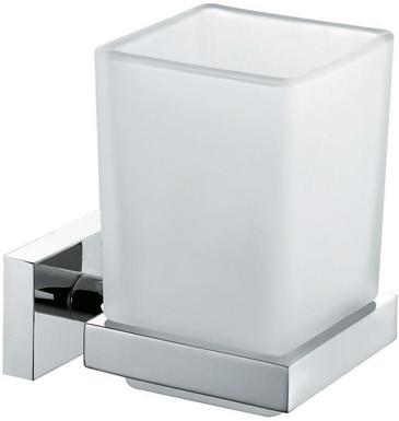 Подстаканник Milardo Bering одинарный, цвет: белый. BE051MI полотенцедержатель milardo bering be061mi