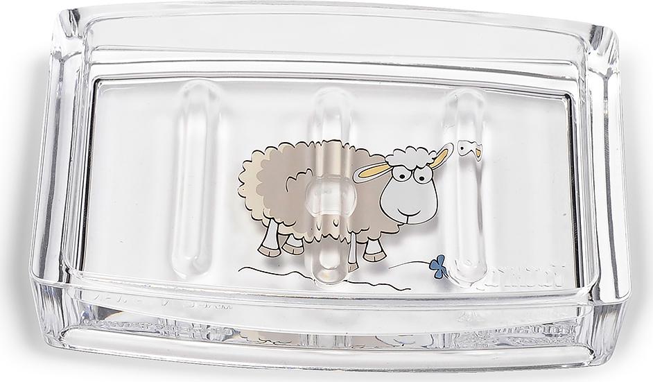 Мыльница Tatkraft Acryl Funny Sheep мыльница tatkraft margarita