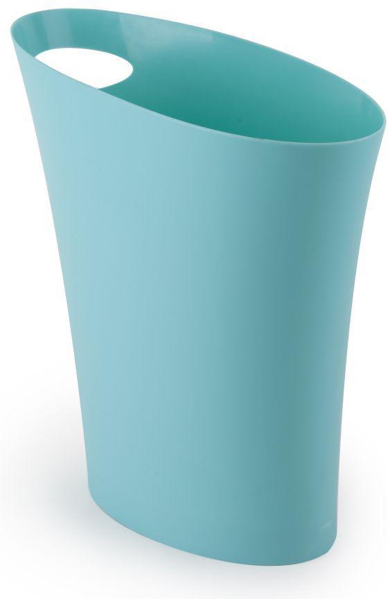 Контейнер мусорный Skinny морская волна корзина для мусора umbra woodrow 7 5 л эспрессо