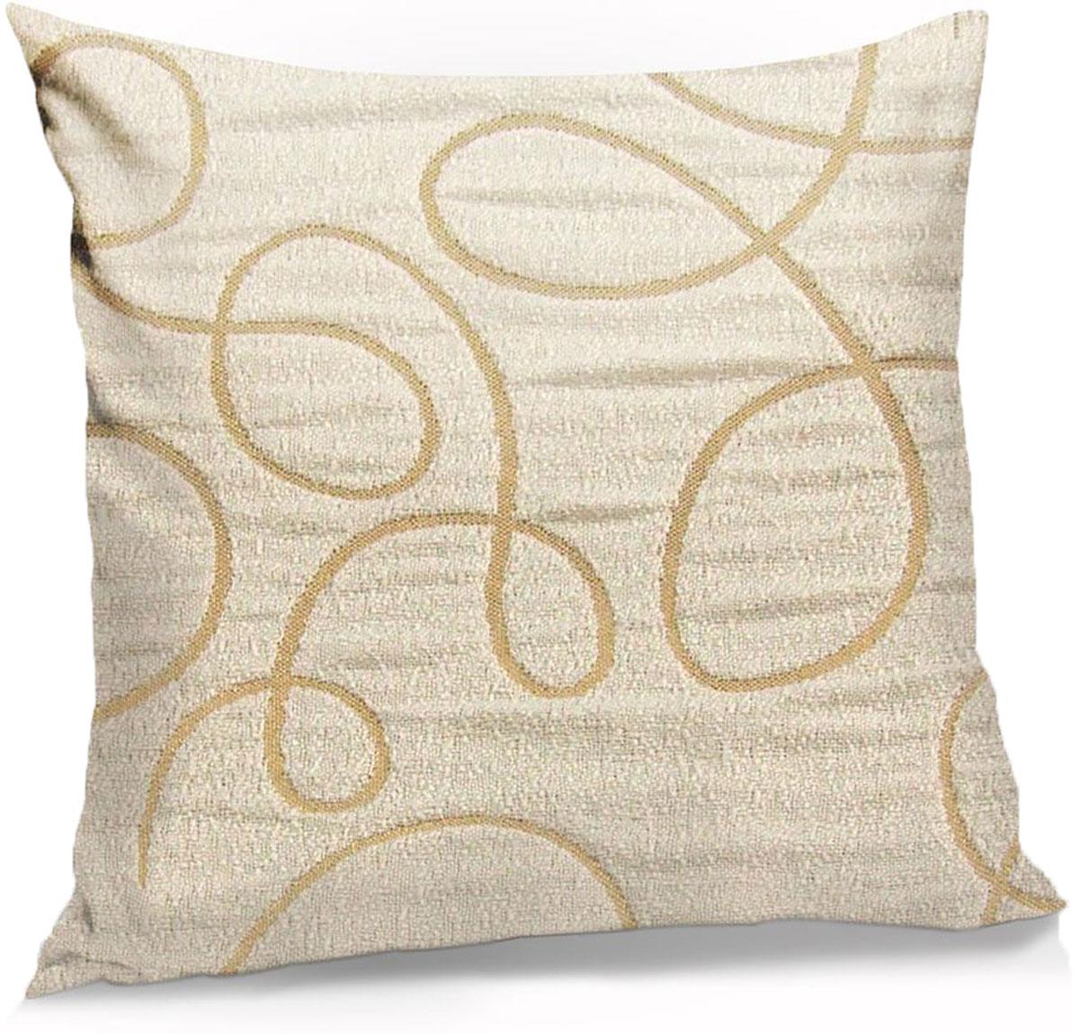 Подушка декоративная KauffOrt Минор, цвет: шампань, 40 x 40 см блуза pattern pattern mp002xw1gsf2