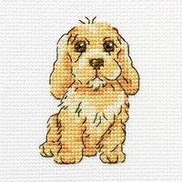 Набор для вышивания крестом RTO Милый Ларри, 9 х 9 см набор для вышивания крестом rto женский образ 9 х 11 5 см eh304