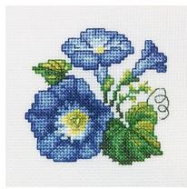 Набор для вышивания крестом RTO Вьюнок, 10 х 10 см набор для вышивания крестом rto котенок с подарком 10 х 10 см