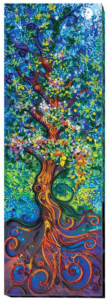 """Набор для вышивания бисером Абрис Арт """"Волшебство"""", 21 x 65 см"""