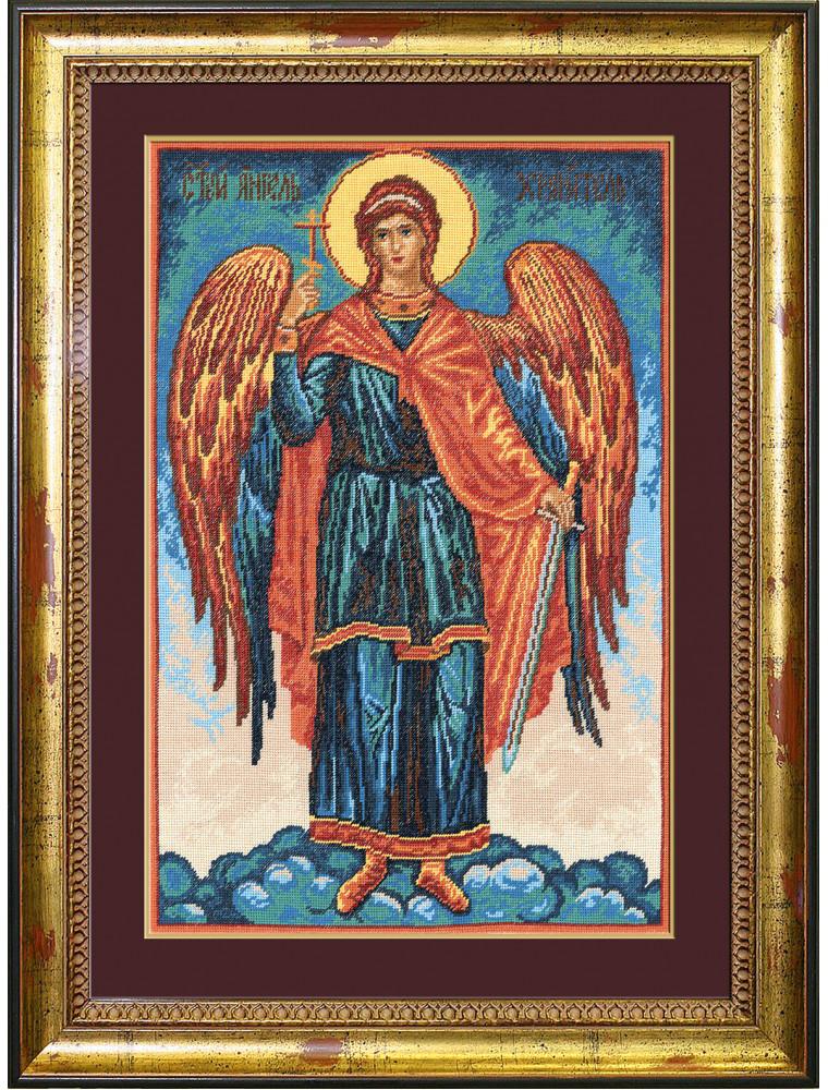 Набор для вышивания крестом Ангел Хранитель, 30 х 45 см подвеска ангел хранитель для красной нити 18