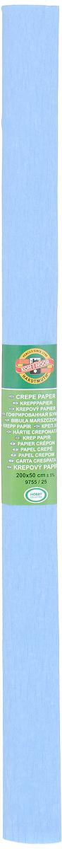 Бумага гофрированная Koh-I-Noor, цвет: голубой, 50 см x 2 м бумага гофрированная koh i noor цвет голубой 50 см x 2 м