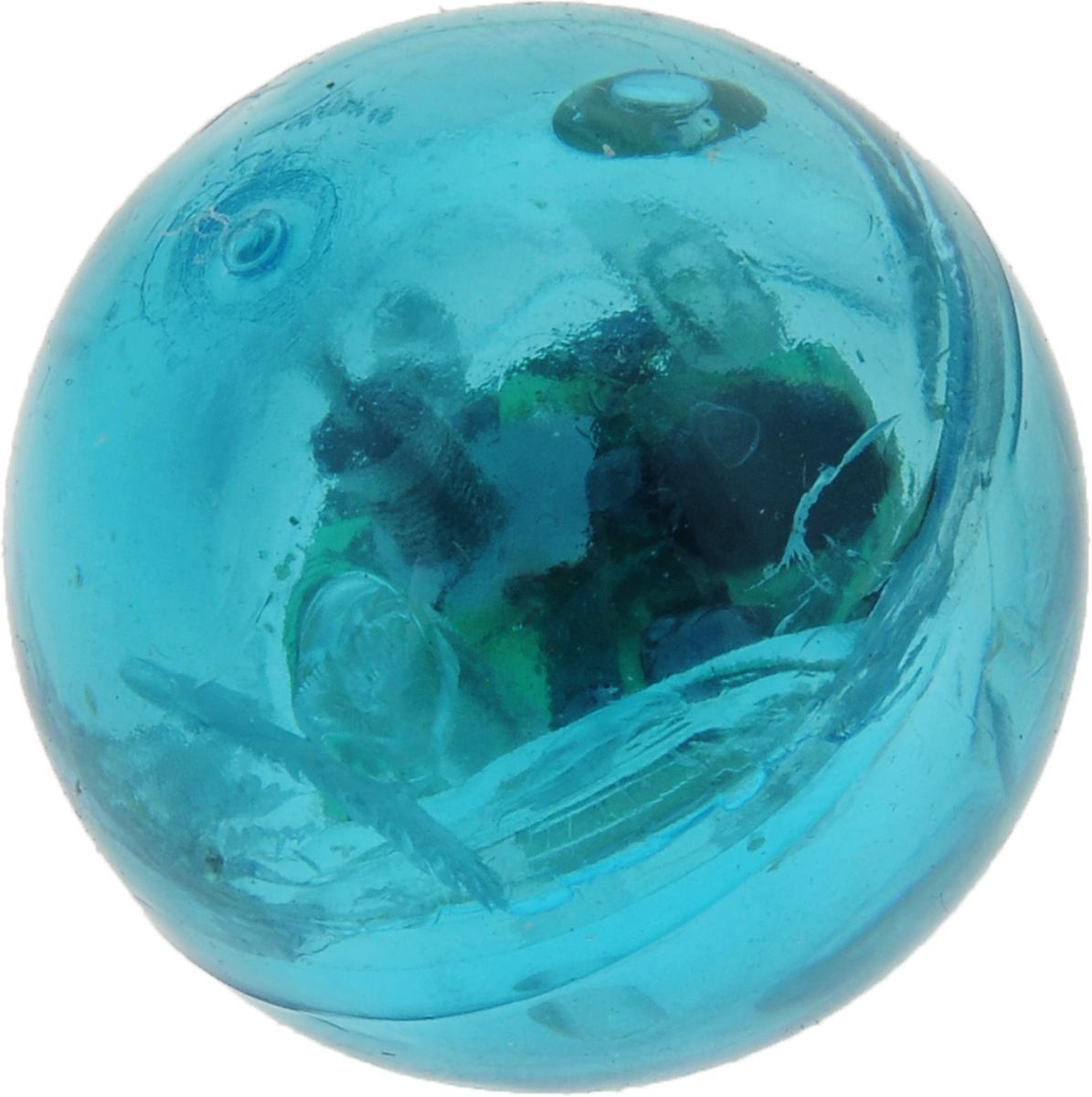 Мяч для собак Camon, светящийся, цвет: синий, 38 мм для собак грызть
