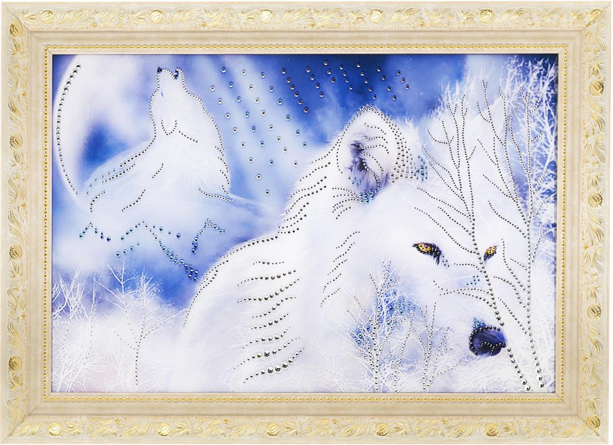 картинки волков белых с кристаллами
