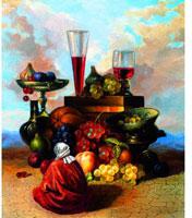 Картина-репродукция без рамки Жизнь Востока во время сбора винограда. 2004, 60 х 50 см 15840 квикдекор картина на холсте танцы фей и эльфов 60 см х 40 см