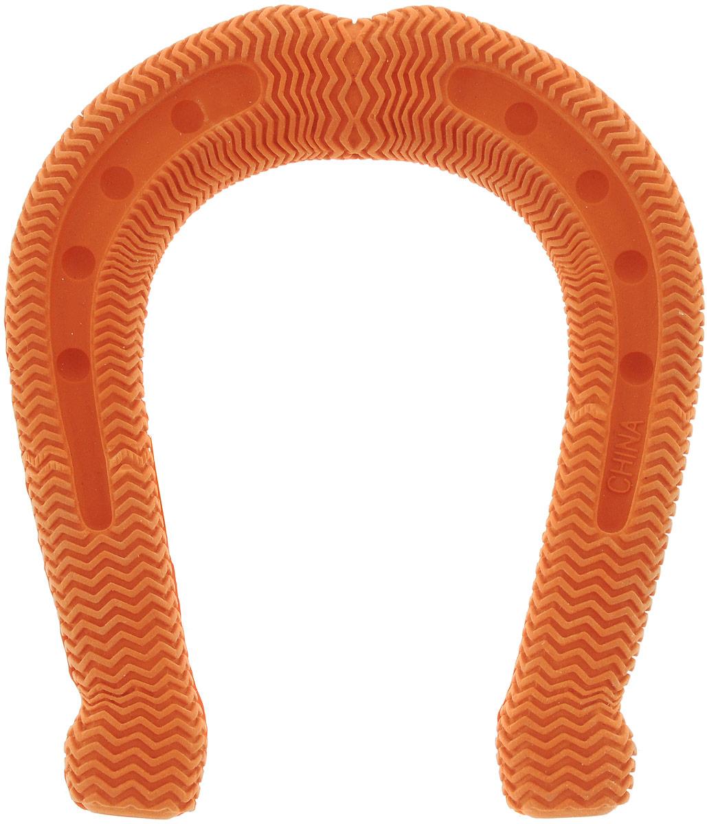 Игрушка для собак Camon Подкова, 12 х 10 х 2 см игрушка для собак camon рыбка с пищалкой цвет белый красный 10 х 6 х 6 3 см