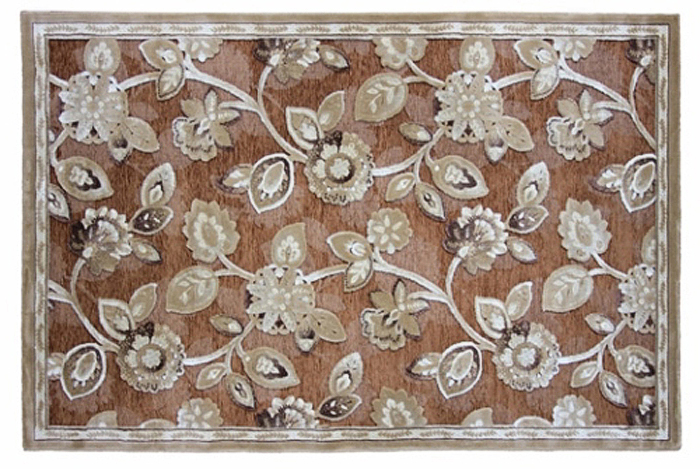 Ковер Oriental Weavers Арена, цвет: коричневый, 120 х 180 см. 2S ковер oriental weavers леа цвет коричневый 120 х 180 см 14922
