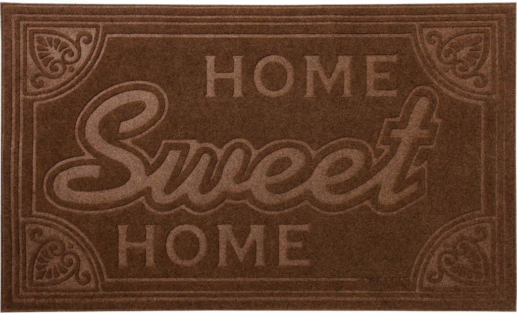Коврик придверный Vortex Comfort Home Sweet Home, 45 х 75 см