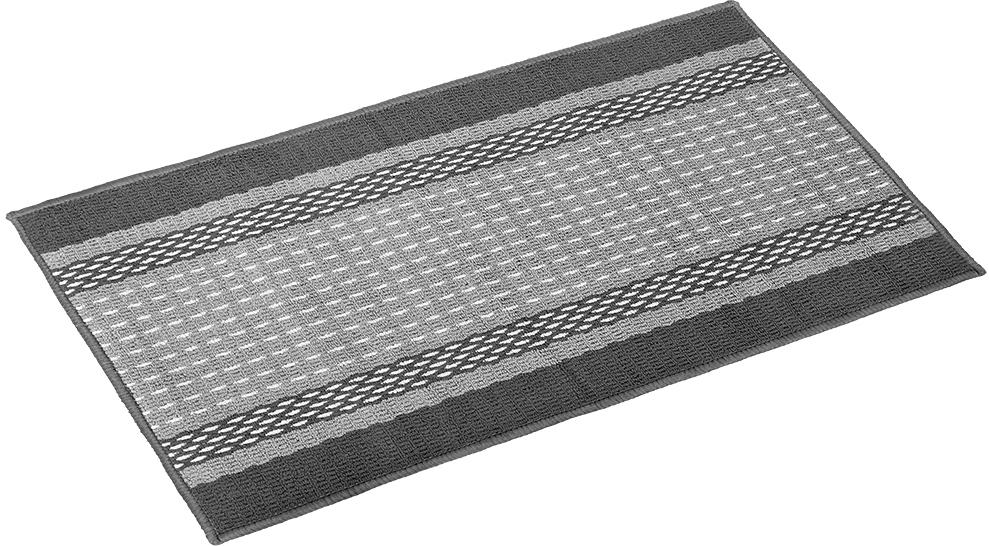 Коврик Vortex Madrid, 50х80 см, цвет: серый коврик придверный vortex madrid основа латекс размер 50х80 см в ассортименте