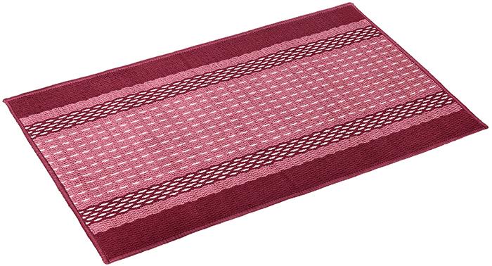 Коврик Vortex Madrid, 50х80 см, цвет: темно-бордовый коврик придверный vortex madrid основа латекс размер 50х80 см в ассортименте