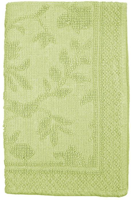 Коврик прикроватный Arloni Кармен, цвет: зеленый, 60 х 90 см ковровая дорожка или прикроватный коврик lekar