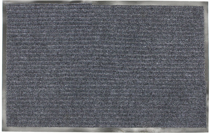 Коврик придверный Vortex, влаговпитывающий, цвет: серый, 50 х 80 см коврик придверный vortex влаговпитывающий цвет коричневый 50 см х 80 см